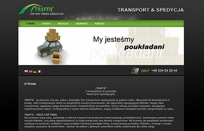 Traffic - transport & spedycja
